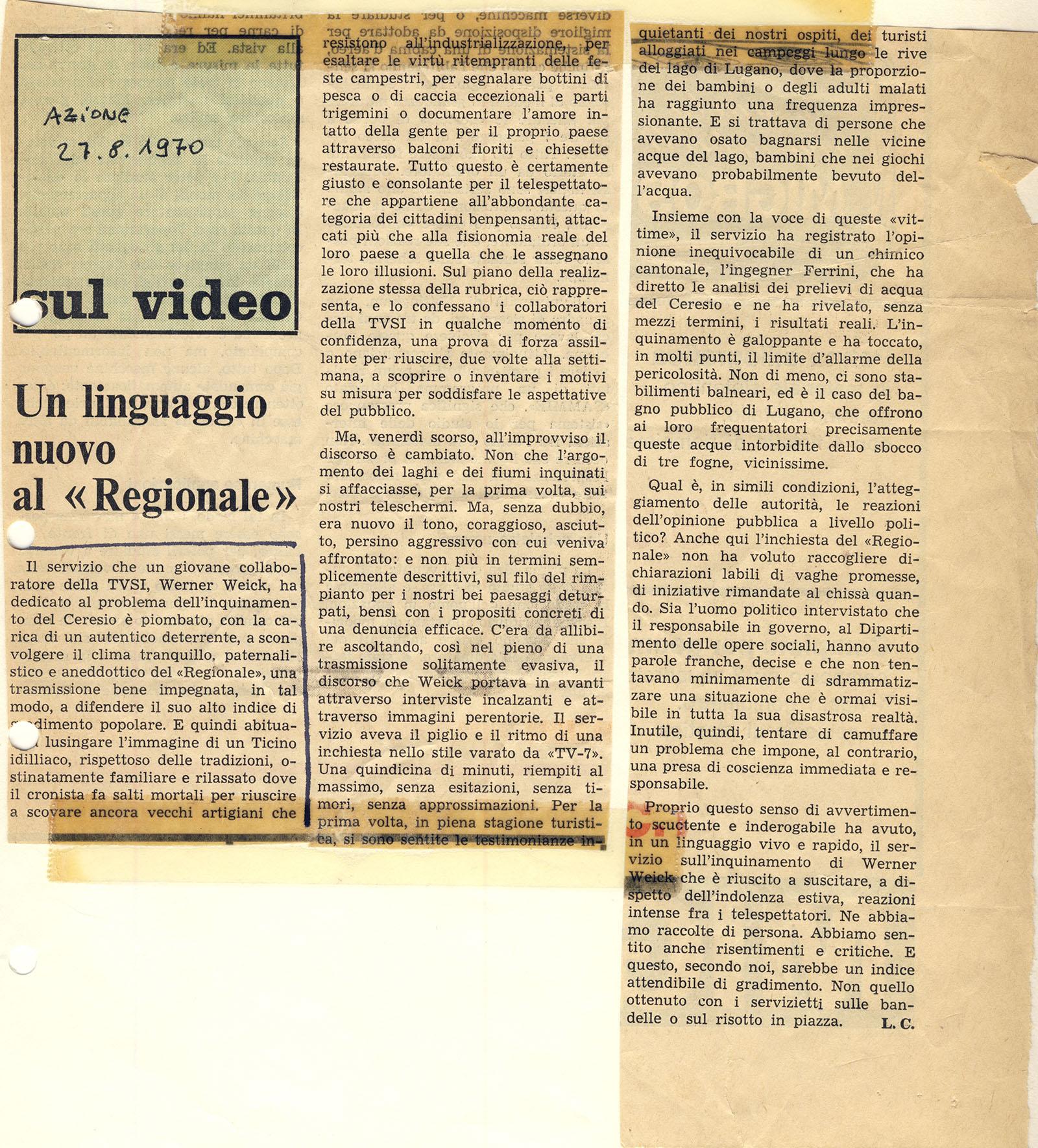 ARTICOLO REGIONALE